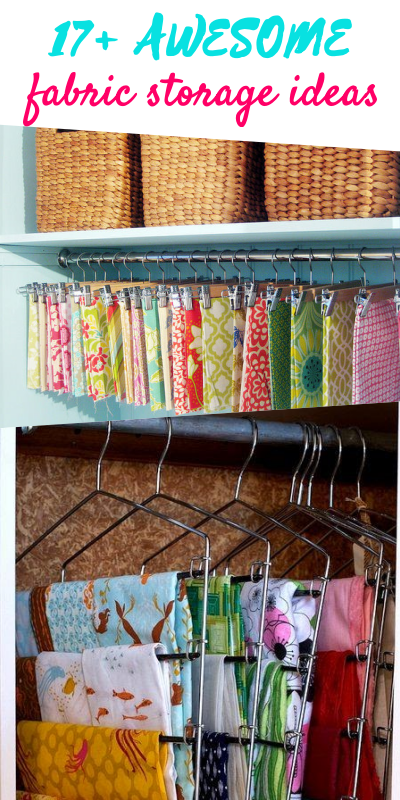 Fabric Storage Ideas for Sewing Rooms | fabric organization ideas | storage for sewing room | fabric storage | sewing room fabric storage ideas