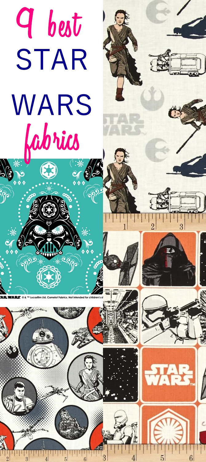 9 Best Fabrics for Star War Lovers That You Can Buy Online
