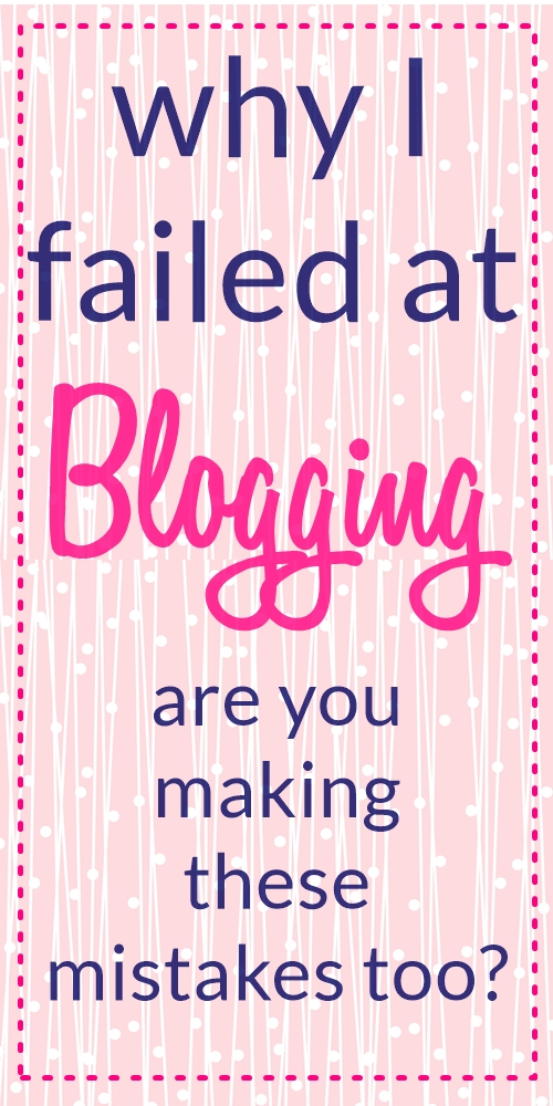 9 DEADLY Blogging Mistakes I Made as a Newbie