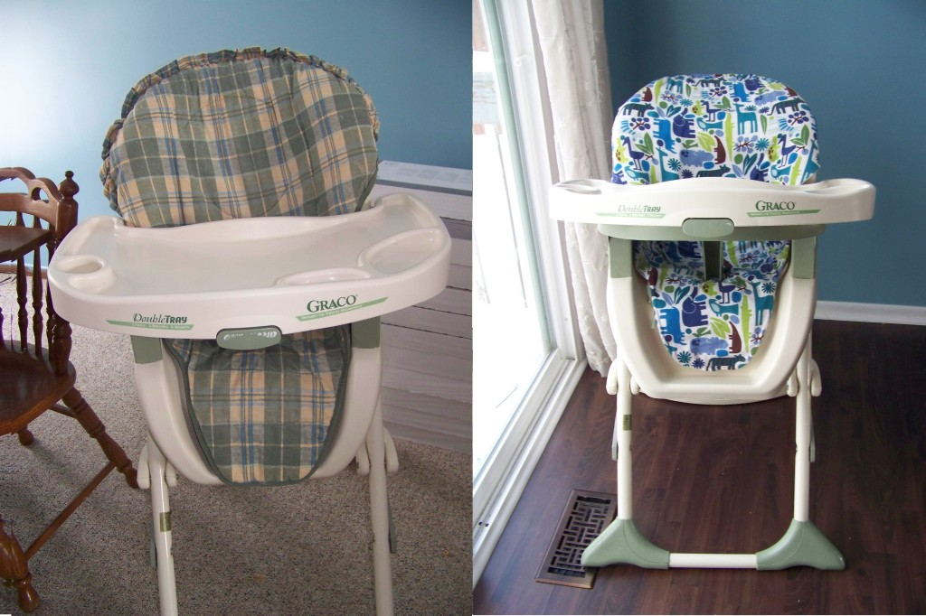 High Chair Cover Tutorial