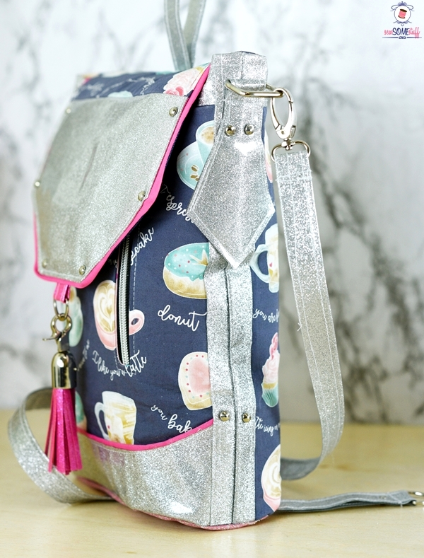 Sewing Pattern Backpack Image collections - origami instructions ...