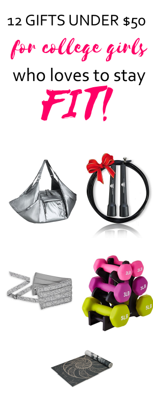 gift ideas for college girls who love to stay fit | college girl gift guides |