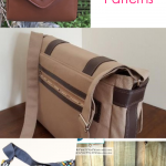 7 Best Messenger Bag Patterns that are Easy to Sew