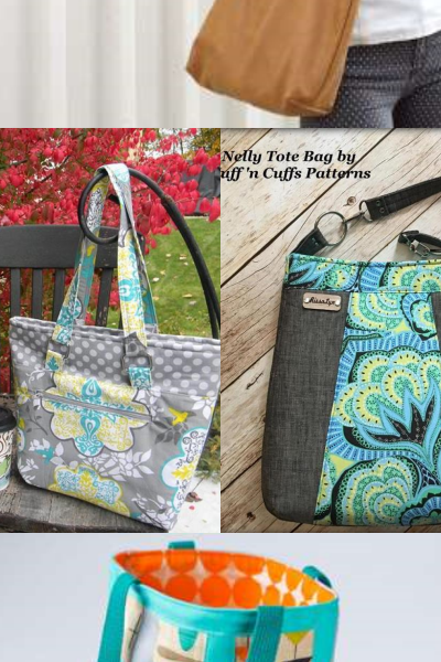 9+ Unique Tote Bag Patterns and Tutorials That you Will LOVE