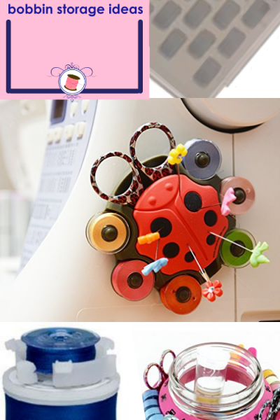 11 SUPER COOL Bobbin Thread Holder Ideas for Everyone