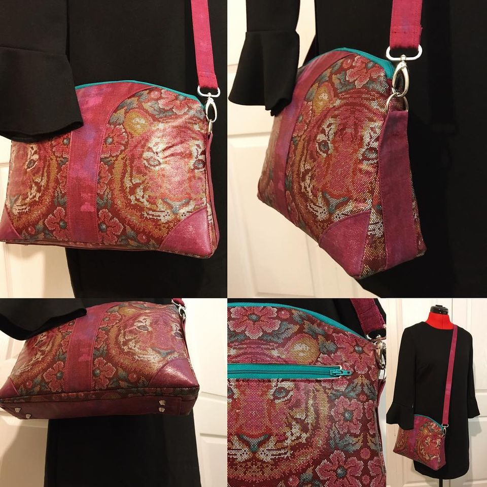 Seema Crossbody Bag Sewing Pattern And Video Tutorial