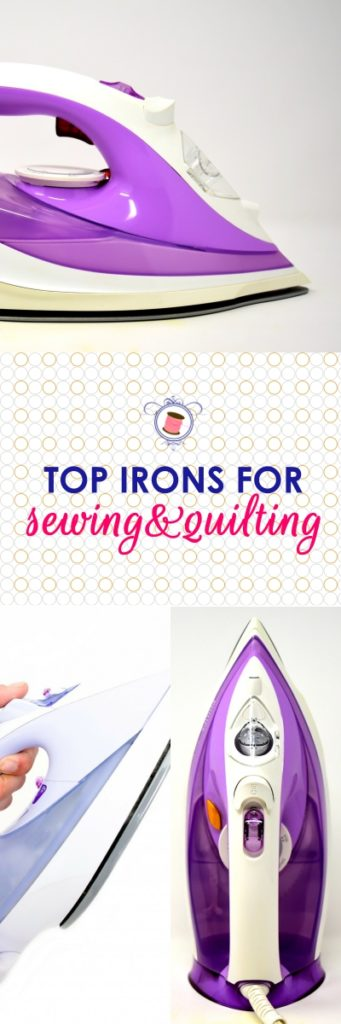 best irons for sewing 2018 | best irons for quilting | top budget irons | what kind of iron to buy for sewing | reliable irons for quilting and sewing | oliso iron review | best cordless iron for sewing | what is a good iron for quilting and sewing | #sewingtips #bestironforsewing #bestironforquilting