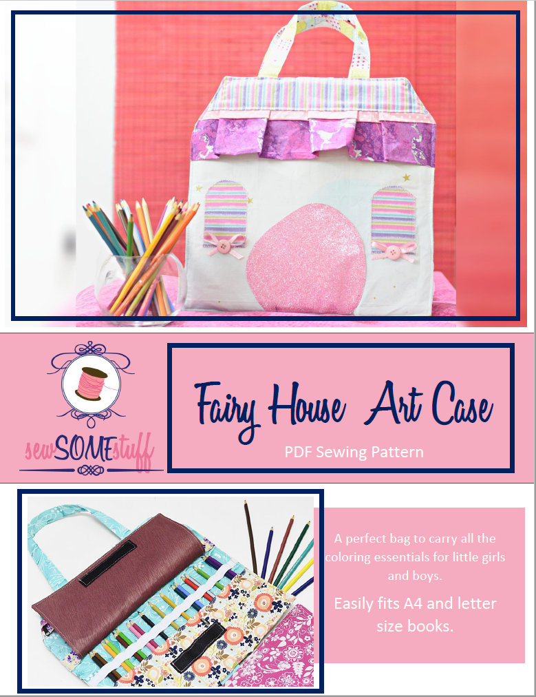 fairy house art case sewing pattern
