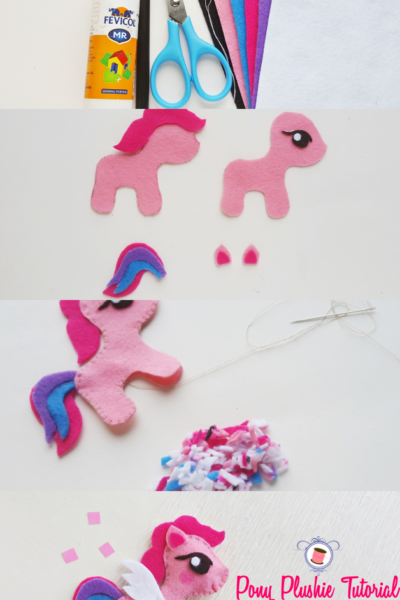My Little Pony Sewing Pattern (Free) and Tutorial