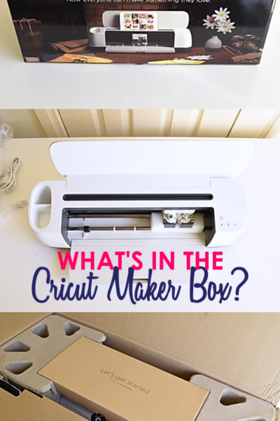What's in the Cricut Maker Box?