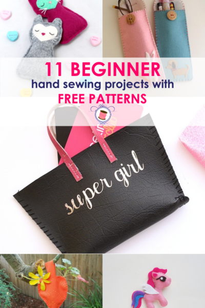 11 Super Simple Hand Sewing Projects for Beginners