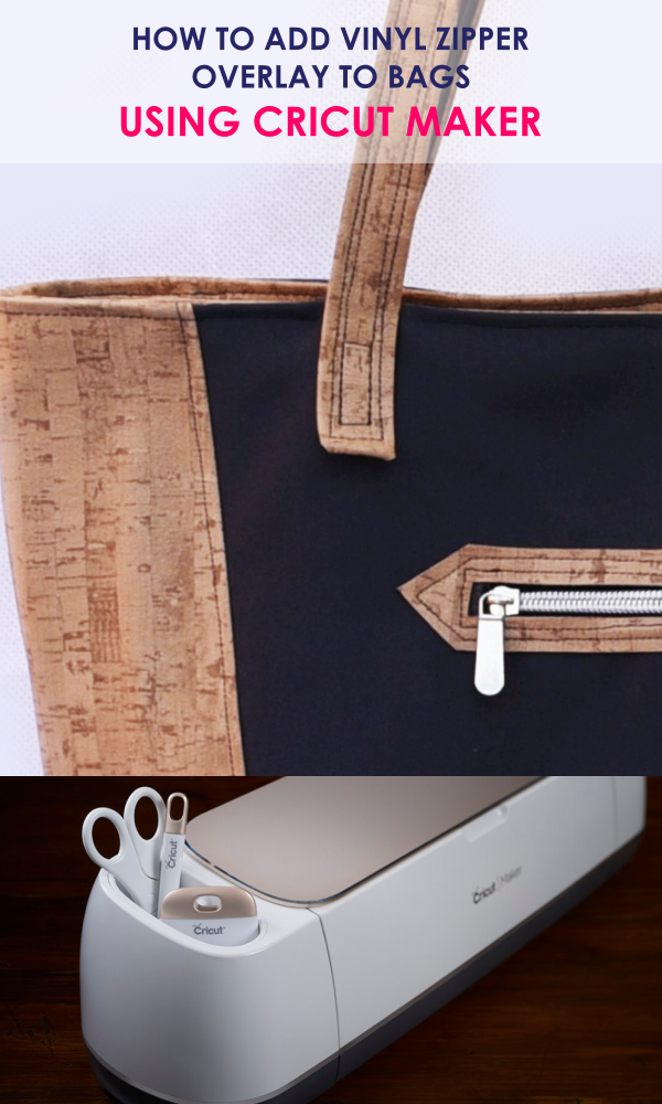 how to sew a zipper pocket with vinyl overlay | bag sewing patterns | free bag patterns | purse patterns | handbag patterns | free sewing patterns