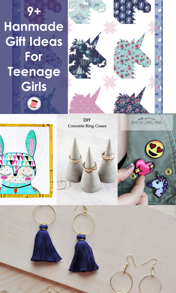 Homemade Gift for Teenage Girl | homemade girl gifts | craft gifts for teenage girl | DIY gifts for girls | easy to make gifts for girls | gifts to sew for girls