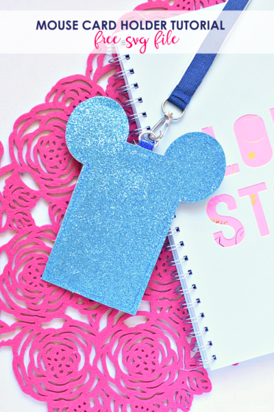 Cute Mouse Card Holder Sewing Tutorial FREE SVG