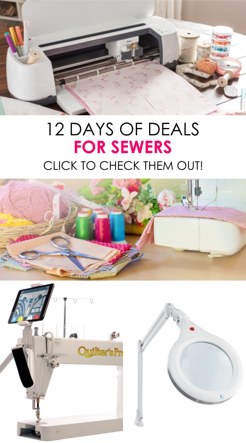 12 days of deals for sewers