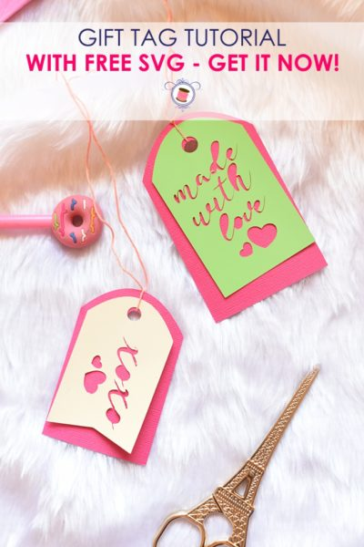 Super Cute Free SVG Gift Tags for Cricut