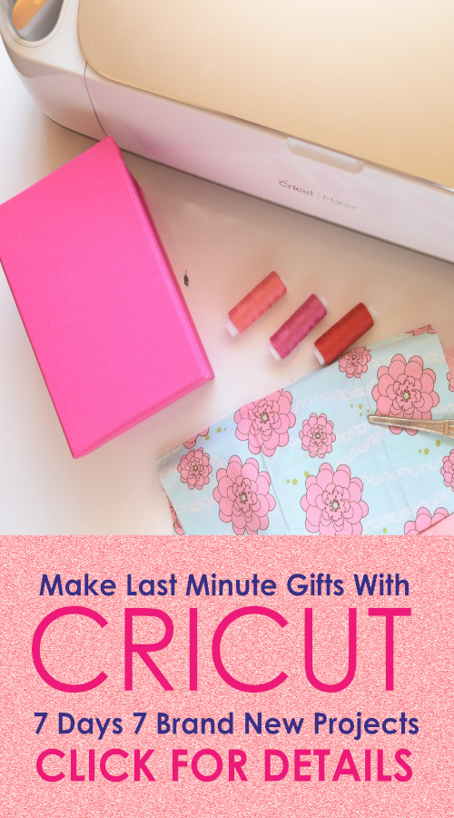 Learn to make last minute gifts with Cricut Maker cricut maker sewing projects, free sewing patterns for cricut maker, cricut maker pattern library | easy gifts to sew for everyone | easy sewing projects for gifts | hand sewn gift ideas | handmade gifts